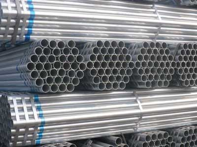 cold galvanized steel pipe