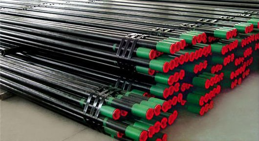 Casing oil pipeline