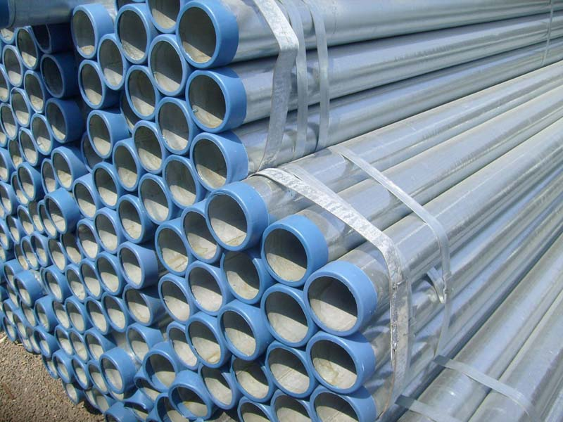 "1 1/4"" galvanized steel pipes"