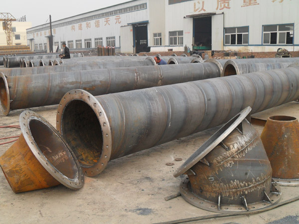 SSAW spiral piling steel pipe 1/2 inch - 24 inch