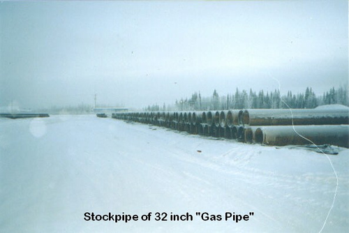 ASTM A106/A53 GR.B 32 INCH Carbon Seamless GAS pipe