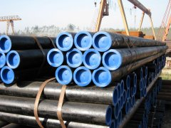 Transmission fluid seamless steel pipe