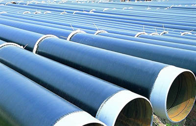 spiral welded coating pipe